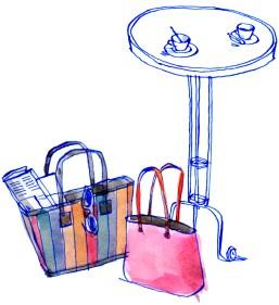 bags at café 300 dpi