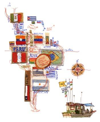 Michele_Tranquillini_mappa sud america