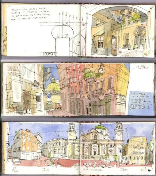 Milano sketch