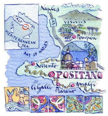 Condè nast Traveller_positano_map_300dpi