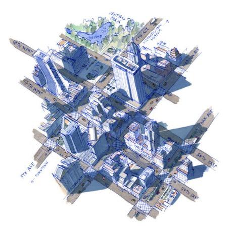 I Viaggi del Sole NYC map